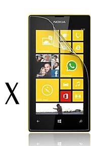 [2-pack] alta transparencia de cristal LCD protector de pantalla transparente profesional con paño de limpieza para Nokia Lumia 520