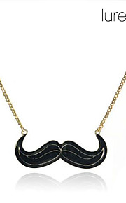 Mustache lang kæde halskæde