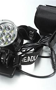 Hovedlygter LED 5 Tilstand 8400 Lumens Vanntett / Genopladelig Cree XM-L T6 18650Camping/Vandring/Grotte Udforskning / Dagligdags Brug /