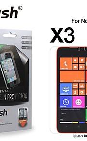 노키아 1320에 대한 높은 투명성 HD LCD 화면 보호기 (3 개)