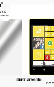 Protector de pantalla LCD del espejo de alta transparencia para Nokia 520