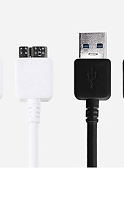 USB Sync and Charge Cable for Samsung Galaxy Note 3/S4/S3/S2 and Other Cellphones(Assorted Colors)