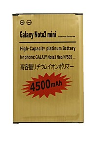 dual-cell 3.8V 4500mAh li-ion batterij voor Samsung Galaxy Note 3 neo / note 3 mini / N750