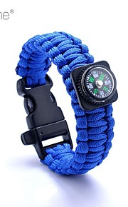 Survival Whistle / Survival Bracelet Hiking Survival / Whistle Nylon Yellow / Pink / Blue