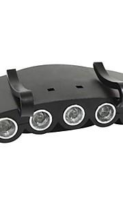 Unitop 900111 5 LED-fiske/camping pandelampe til montering i skyggen af kasket. (500 lumen, 2 x 2032)