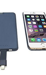 æble MFI certificeret adsorption batteri Case for iPhone 6
