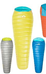 HIGHROCK Outdoor Single Person Yellow/Mint/Red/Blue/Gray/Orange Color Ultra-Light  Portable Duck Down Sleeping Bag