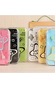 X44 Style Jelly Color In-Ear Headphones for iPhone And Other (Assorted Colors)