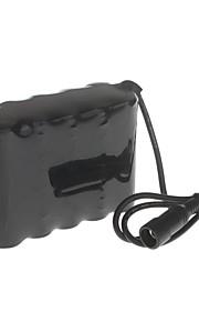 me-10 8.4V 10000mAh 10x18650 bateria recarregável para luz de bicicleta farol