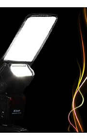xit xtls Flash reflector câmera Difusor para Canon Speedlite 580EX / 600EX / 430exii Nikon SB600 SB900 Nissin metz