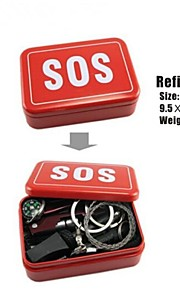 ESDY Self Help SOS Tool Kit Outdoor Equipment Emergency Gear Tools Box
