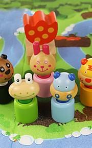 benho birketræ skov dyr træklodser uddannelse legetøj