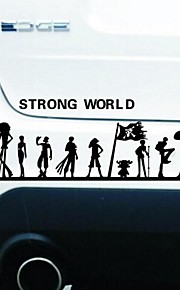 Car Stickers with The Strong World