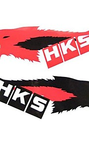 Car Stickers with HKS Wolf Car Styling