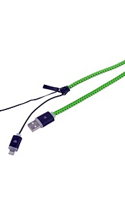 48cm - PS3 Opladers & Kabels >> - kabel - Samsung/Andere/Universeel/Android-telefoons - USB/Andere/Micro USB - met Andere