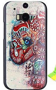 HTC One(M8) - 플라스틱 - 뒷면 커버 - 그래픽/만화/특별 디자인/노블티 - 케이스 커버
