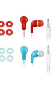 사과 귀-안쪽 - 유선 - 이어폰 (이어버드, 인-이어) ( 마이크로폰/볼륨 조절/이어 버드/소음 제거 )