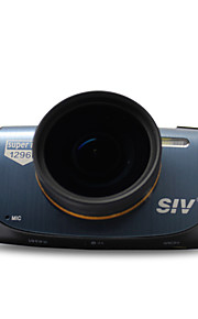 """SIV-M5 A7 1296P Car DVR with2.7"""", HDR Night Vision  170' Wide Angle  FCWS LDWS - Black + Blue"""