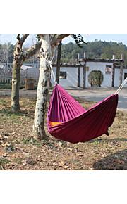Double Hammock Camping Survival Hammock Parachute Cloth Portable Double Person Hammock Outdoor Leisure