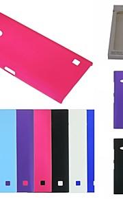 노키아 루미아 730 n730에 대한 kemile 고급 다채로운 하드 platic 매트 뒷면 커버 CAE (aorted 색)