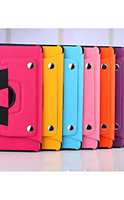 360 Degree Rotating Split Hand Strap Leather Case Stand Cover for Apple iPad mini 1/2/3(Assorted Colors)