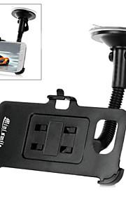 mini sorriso ™ ventosa auto montato supporto del telefono flessibile collo per la galassia S6 / g9200