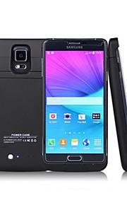 4800mA nuovo caso esterno di batteria protettiva per Samsung Galaxy Note 4 (colori assortiti)