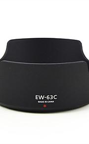 mengs® ew-63c kronblad modlysblænde til Canon ef28-90mm f / 4-5.6 II USM, EF-S 18-55 mm f / 3.5-5.6 USM, 28-80 mm f / 3.5-5.6 V USM