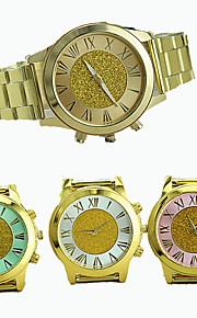 Herre Modeur Armbåndsur Quartz Legering Bånd Afslappet Guld