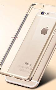 iPhone 6 - Achterkantje - Transparant ( Zwart/Goud/Zilver , Metaal )