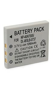 FNP-40/K7005/DLI8/SLB-0737 - Li-ion - Batterij - voorfor FUJIFLIM F350, F402, F455, F460, F470, F480, F601, F610, F700, F710, F810, F810