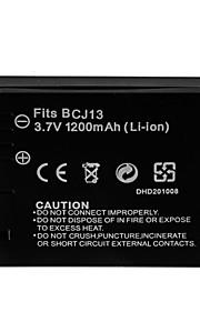 1200mAh camera batterij voor Panasonic DMW-BCJ13 (t)