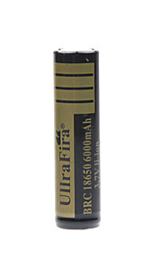 ullra fira 3.7V 6000mAh 18650 oplaadbare lithium-ion batterij (1st)