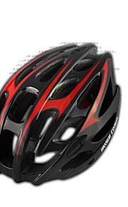 خوذة ( أصفر/أحمر/أسود/أزرق غامق , EPS+EPU ) - للجنسين - جبل ركوب الدراجات المخارج