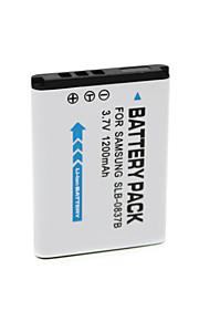 SLB-0837B - Li-ion - Batterij - voor for  Samsung NV10 NV8 NV15 NV20 L301 - 3.7V - ( V ) - 1200mAh - ( mAh )