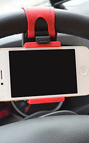 Universal Car Steering Wheel Mobile Phone Holder for iPhone and Others(Assorted Colors)