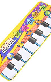 bebê tapete jogo educativo com função de voz - de piano&tema animal