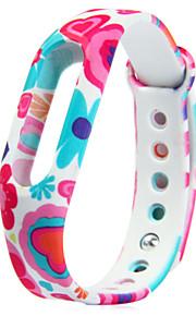 TPU substituição padrão colorido Xiaomi miband pulseira pulseira para Xiaomi relógio inteligente
