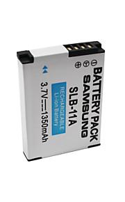 SLB-11A - Li-ion - Batterij - voorfor Samsung TL320 PL70/PL50/PL60/PL65/NV9/M310W/L310W/IT100/WB500<br>
