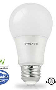 E26 LED-globepærer A60(A19) 14 SMD 2835 500 lm Varm hvit / Kjølig hvit / Naturlig hvit Dimbar AC 110-130 V 1 stk.