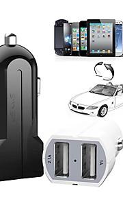 dual usb auto-oplader voor iPhone 6/6 plus iphone 5 / 5s / 5c iPad en anderen (5V / 3.1a)