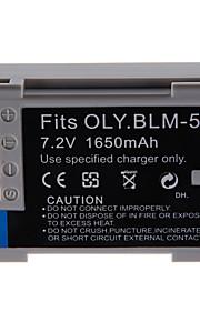 1650mAh camera batterij voor Olympus PS-blm5