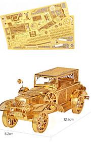 carro 3d quebra-cabeça de metal estéreo do vintage modelo mecânico para diy quebra-cabeça de brinquedo adulto