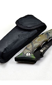Outdoor Survival Folding Camouflage Tools Knife