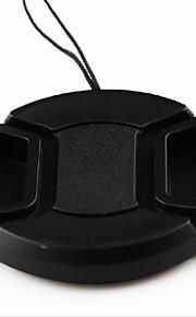 dengpin 52 milímetros tampa da lente da câmera para Panasonic DMC-GF5 gf7 GF6 GF3 GF2 GF1 14-45 45-150 45-200 14-42mm + uma corda titular