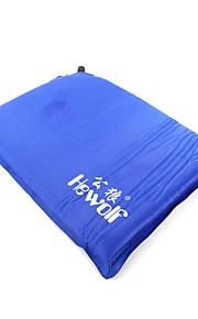 Hewolf Moistureproo PE Foam/Polyester Inflated Mat/Camping Pad 1390 Blue/Orange