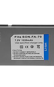 1220mah camera batterij voor NP-FA70
