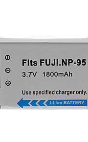 1800mAh camera batterij voor Fuji NP-95