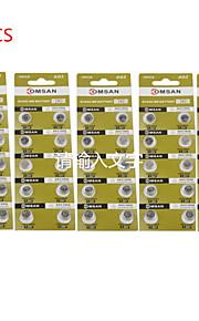 comsan AG2 lr726 396 sr726 196 hoge capaciteit knop batterijen (50 stuks)