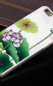 nytt mode 3d skönhet blomma färgrik totem tecknad fallet för iphone 4s